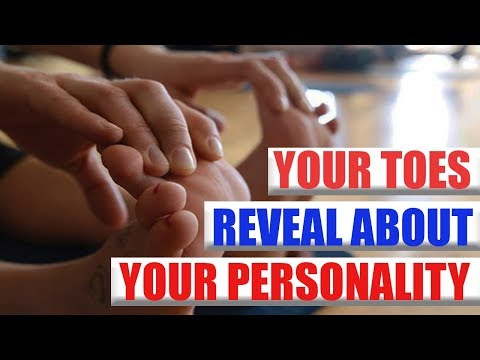 🔹🔹This Is What Your Toes Reveal About Your Personality🔹🔹
