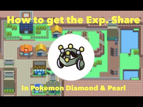 How to get the Exp. Share in Pokemon Diamond & Pearl and Platinum