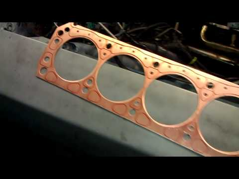 5.0 Mustang turbo SCE COPPER HEAD GASKETS INSTALL