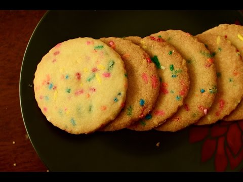 Eggless Butter Cookies Recipe | Melt In Mouth Cookies Recipe