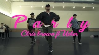 PARTY / CHRIS BROWN FT USHER & GUCCI MANE / CHOREOGRAPHY BY AJ JUAREZ