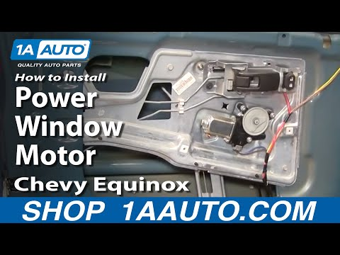 How To Install Replace Power Window Motor Chevy Equinox 05-09 1AAuto.com