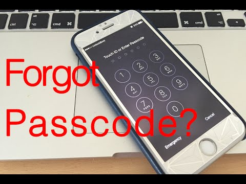 Forgot iPhone Passcode - Here's How to Reset It on iPhone 7 Plus, 7, 6S, 6, SE, 5S, 5C, 5, 4S & 4