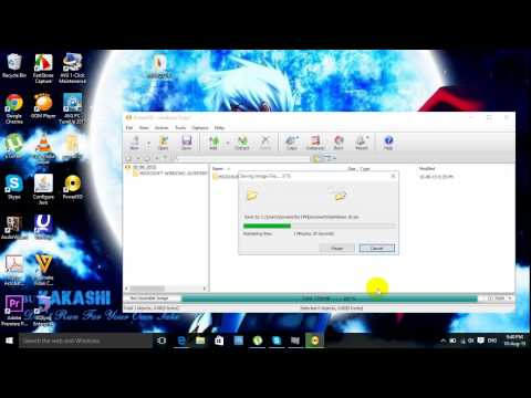 How to convert file folder window to iso file - របៀងបម្លែងឯកសារទៅជា File ISO