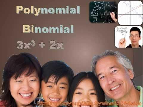 Algebra 1 - Dividing Polynomials; Synthetic Division