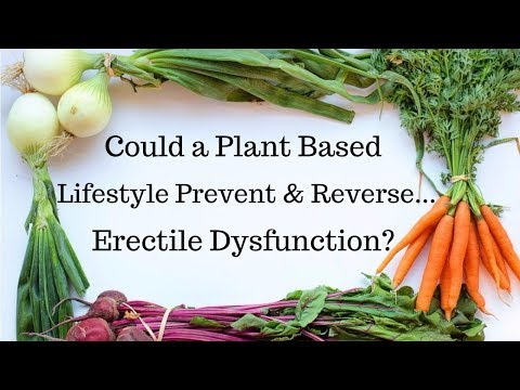 Vegan Q&A with Gerald & Christa Clark - Could a Plant Based Lifestyle Prevent & Reverse....ED?