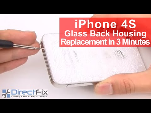 iPhone 4S Back Cover Replacement in 3 Minutes