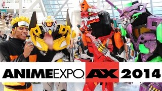 Anime Expo 2014 was a huge cosplay event. Follow Black Gokou, our on the floor cosplay correspondent, as he interviews some amazing cosplay.   Hosted by Geek World & Black Gokou Music by LUCIDPRIEST  Cosplayers Featured- Kelton (Raiden) - https://www.facebook.com/kerukeruuu David Guzman (Totoro) Katie & Donovan (Monster Hunter) - https://www.facebook.com/cosplayartillery Kawaii Kos (Madoka Magica) - https://www.facebook.com/KawaiiKos Brandon G (Grey Fox) Von7animefreak (Inori) - https://www.youtube.com/user/Von7animefreak Homer-Vegeta Lady Deadpool Chris Griffin The Coop Cosplay (Evangelion Group): http://thecoopcosplay.tumblr.com  Check out our Anime Expo photo galleries- http://geekworldradio.com/?tag=ax2014  http://www.geekworldradio.com @GeekWorldRadio Facebook.com/GeekWorldShow PSN: Geek_World  Listen to Geek World every Thursday and Friday at Noon on Indie 100 - http://bit.ly/n5mzV7 with replays throughout the week on The Point - http://bit.ly/kVxRv