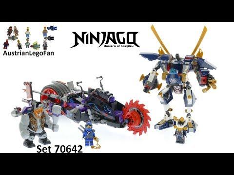 Lego Ninjago 70642 Killow vs.  Samurai X - Lego Speed Build Review