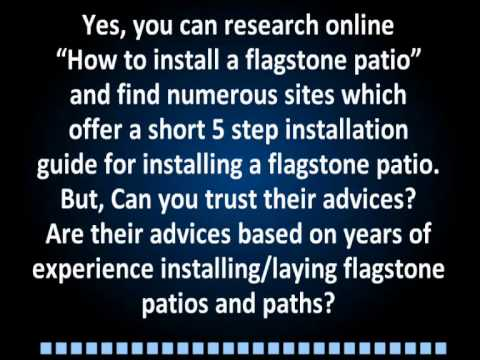 Flagstone patios | Flagstone patio pictures