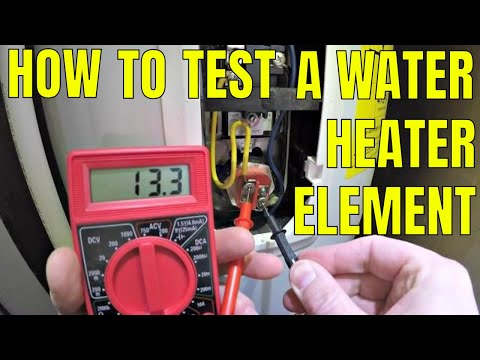 How To Test A Water Heater Element