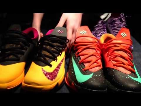 Different ways to lace your kd 6 plus on foot