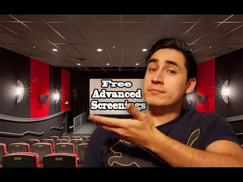 How to Get Advanced Movie Screenings (links in description)