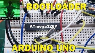 Cargar Bootloader De Arduino, Para Hacer Un Arduino Uno En Su Minima Expresion
