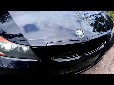 Custom BMW E90 Update Gloss Black Kidney Grill