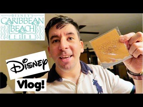Disney's Caribbean Beach Resort Construction Pin Set! | Disney World Vlog - February 2018