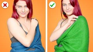 Awesome Fashion Hacks: 31 Way to Wear a Scarf