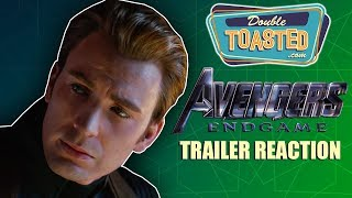 Download AVENGERS ENDGAME TRAILER REACTION - Double Toasted Reviews Video