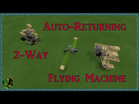 How to make a flying machine in mcpe -