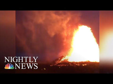 More Evacuations Ordered As Hawaii Volcano Lava Continues To Flow | NBC Nightly News