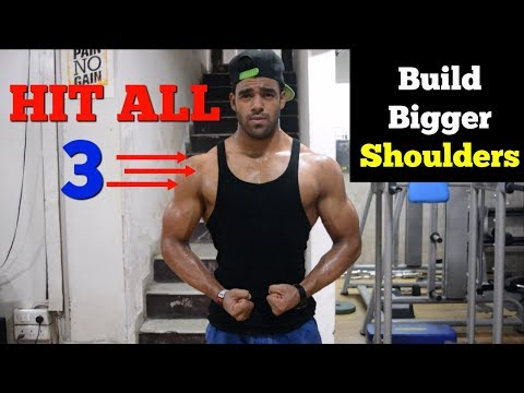 Shoulder Workout At Home | Complete Home Workout Routine
