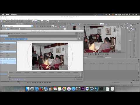 Sony Vegas Pro11 Primeros Pasos_Recorte de Eventos Mac OS P6