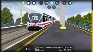 Very,very,very FAST TRAIN!! Hmmsim 2 train simulator! You