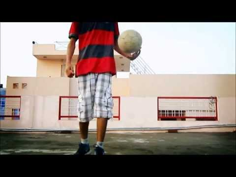 Football Freestyle Slow Motion