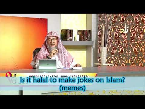 Is it halal to make jokes on Islam? (Islamic Memes) - Sheikh Assimalhakeem