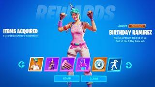 How to Unlock Birthday Rewards in Fortnite (Fortnite Birthday Challenges Reward)
