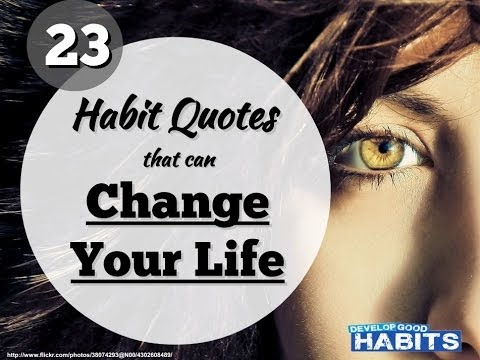 23 Habit Quotes That Can Change Your Life