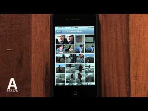 A: How to Change iPhone Background Wallpaper On iPhone 4S/4/3GS - Tutorial 28