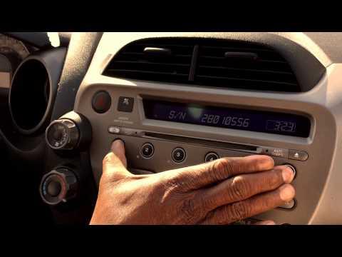 How to reset radio code