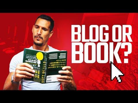 Write A Blog Or Write A Book?