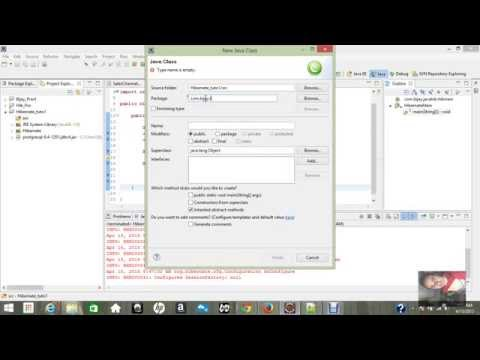 Simple Example for Hibernate in Eclipse