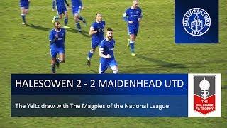 Halesowen Town 2 2 Maidenhead United FA Trophy