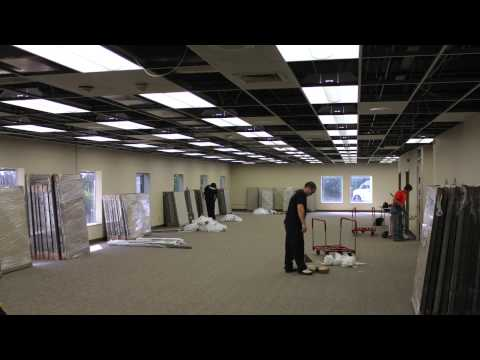 Background Check Company: Corporate Screening Operations Center Renovation Timelapse
