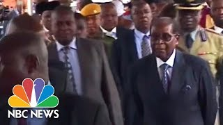 City Streets Calm As President Mugabe Appears In Public For First Time Since Coup | NBC News