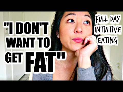 Scared of Weight Gain? Full Day of Intuitive Eating