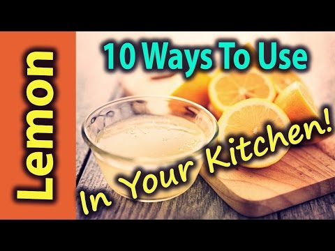 10 Unexpected Ways To Use Lemon In Your Kitchen!