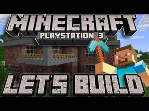 Minecraft PS3 - Hunger Games (Let's Build - Episode 1)