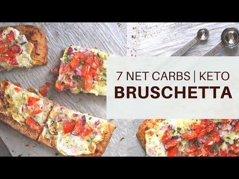 Garlic Bread Bruschetta   7 NET CARBS   #coconutflourrecipe   #almondflourrecipe   #ketogenicdiet  