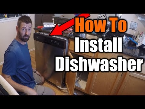 How To Install A Dishwasher | THE HANDYMAN |