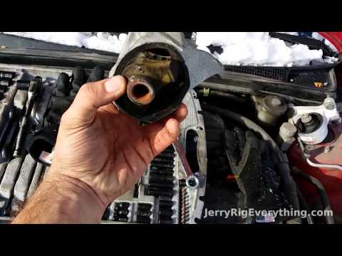 2001-05 Honda Civic Motor Mount replacement, automotive repair video