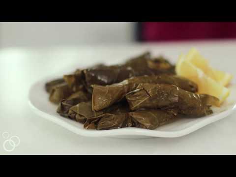 How To Make Lebanese Stuffed Grape Leaves