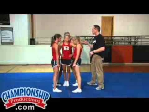 Basic Cheerleading Stunts, Dismounts and Transitions Part 2