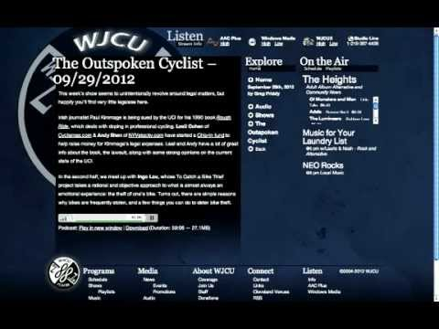 To Catch a Bike Thief on The Outspoken Cyclist