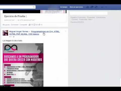 Cómo poner facebook en español de colombia