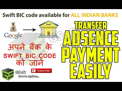 How to earn money with Google adsence | Swift BIC code issue SOLVED