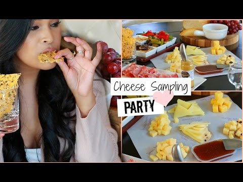 Party Idea - Hosting Tips Wine & Cheese Sampling Party - Pinterest Inspired DIY Foods - MissLizHeart